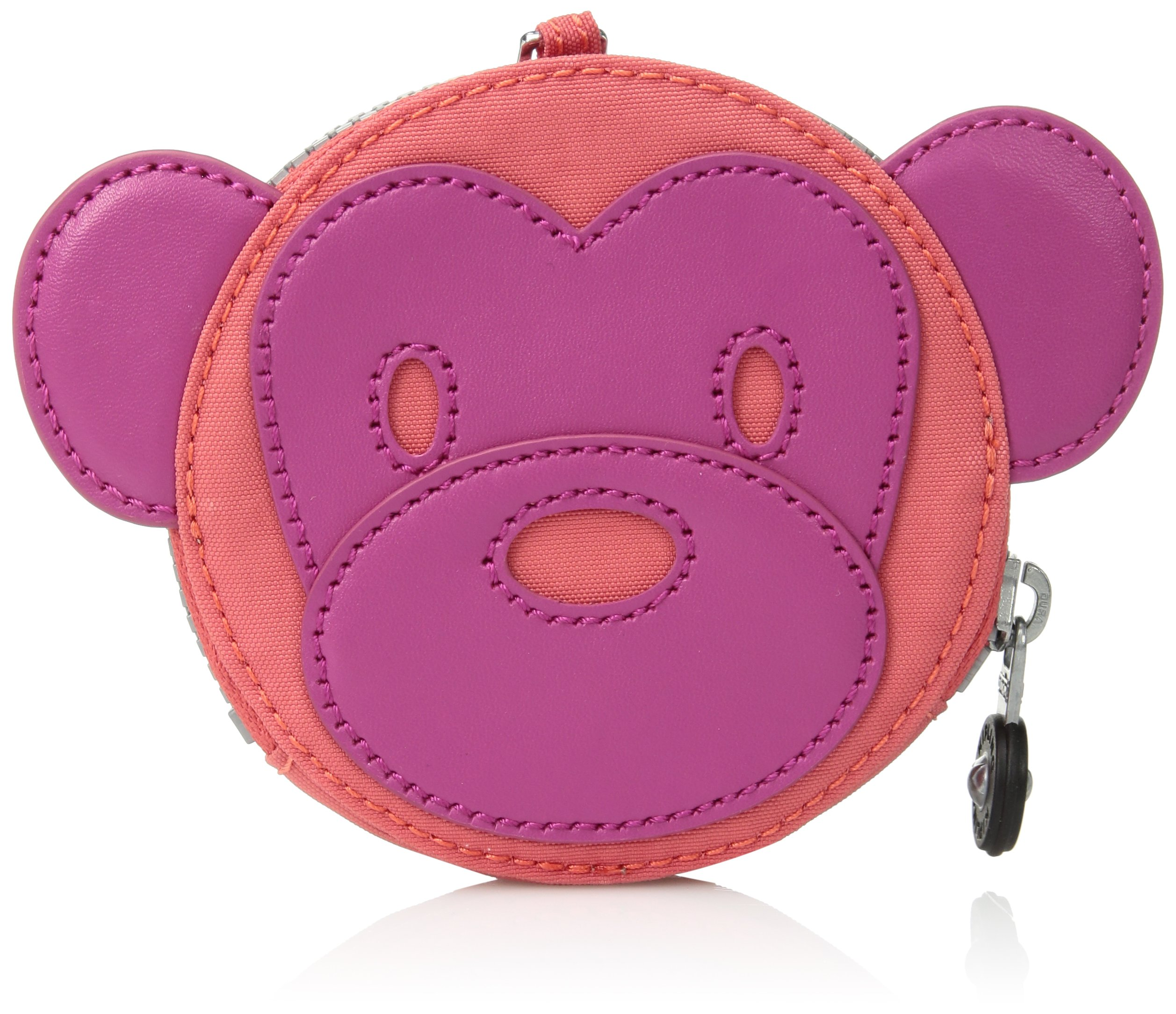 Kipling Monkey Marguerite Very Berry Coin Purse, Vryberryco