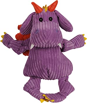 Huggle Hounds Puff The Dragon Knottie With Tuffut Technology Super Sized Purple Amazon Co Uk Pet Supplies