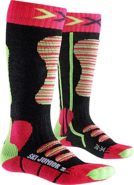 X-Socks Kinder Ski Junior Strumpf