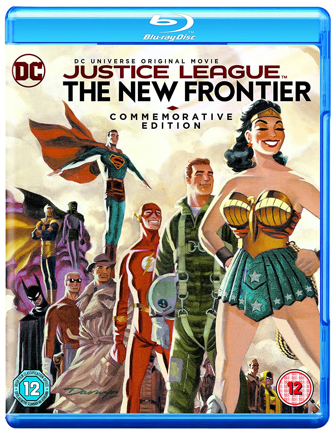Justice League The New Frontier Commemorative Edition [blu-ray] [2017] [region Free]