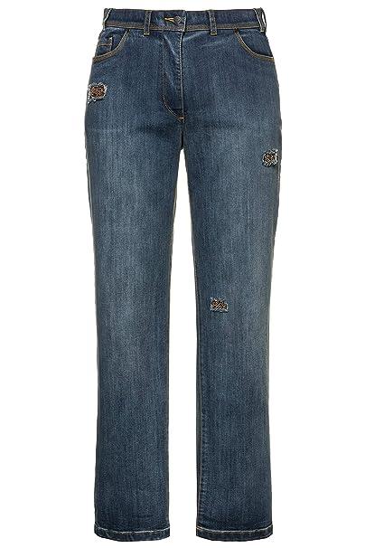 JP 1880 Große Größen Herren Hose Jeanshose Bleached Destroy