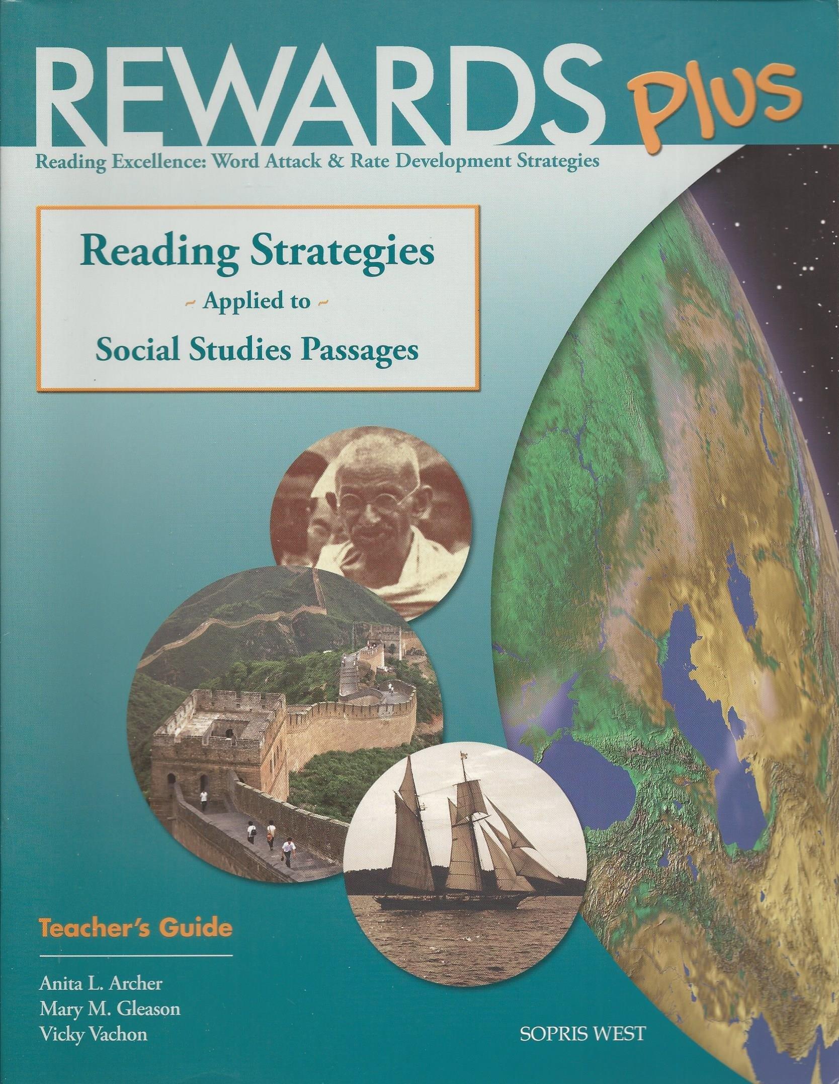 Rewards Plus Social Studies Teacher's Guide: Reading Strategies Applied to Social Studies Passages pdf epub