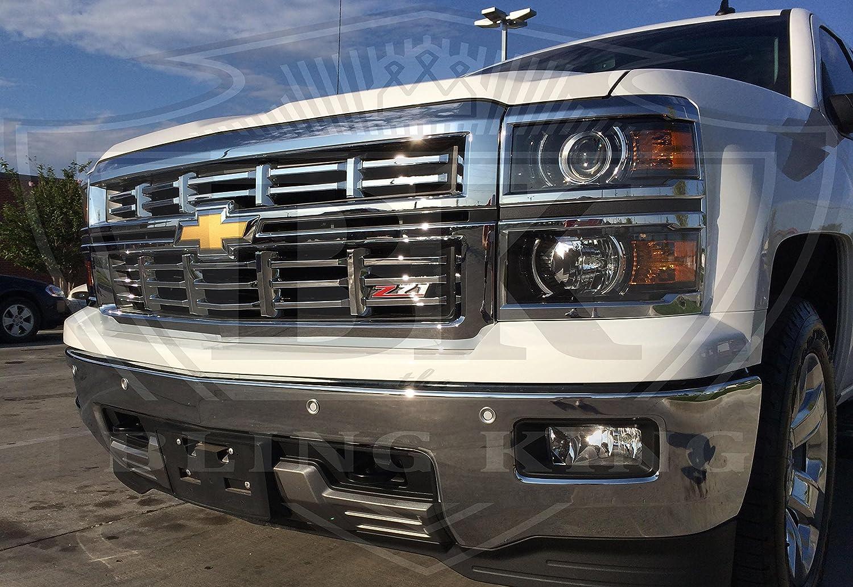 Silverado chevy 2015 silverado : Amazon.com: 2014-2015 Chevy Silverado Z71 Chrome Grille Insert ...