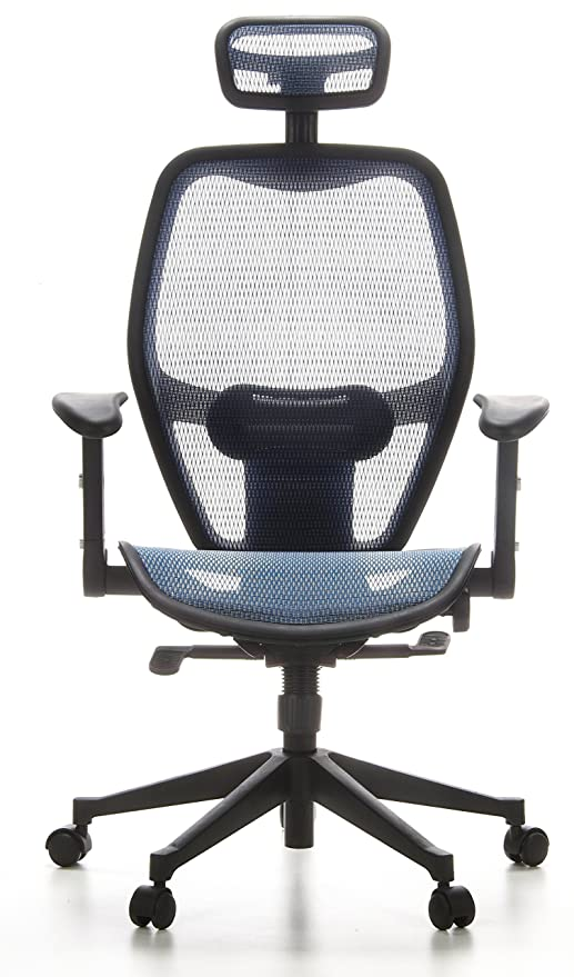 HJH Office AIR-PORT Silla de oficina Azul 48.0x59.0x117.0 cm