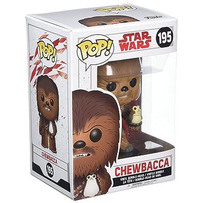 Funko POP! Star Wars: The Last Jedi - Chewbacca - Collectible Figure: Funko Pop! Star Wars:: Toys & Games