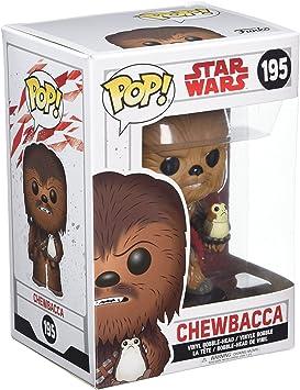 STARWARS Baladeuse-Chewbacca avec Porg-Brand New basé au Royaume-Uni vendeur Funko Pop