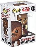 Star Wars Funko - Pop! Bobble Colección Figura Chewbacca con PORG (14748)