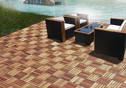 Exceptionnel CAMP 5 Slats Acacia Deck Tile | Patio Tiles | Wood Deck Flooring |Suitable  For