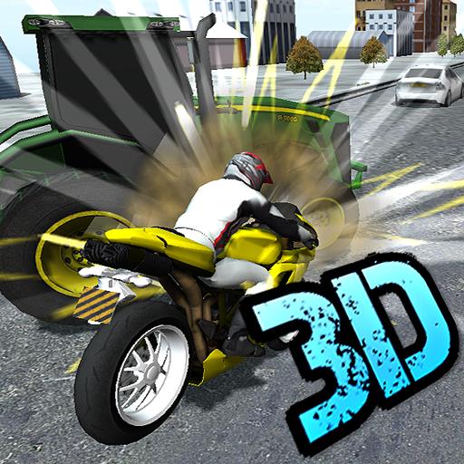 Rally Dash - City Dirt Bike Motocross Rally Mayhem 3D 2015