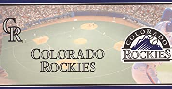 Colorado Rockies Mlb Baseball Team Fan Sports Wallpaper Border