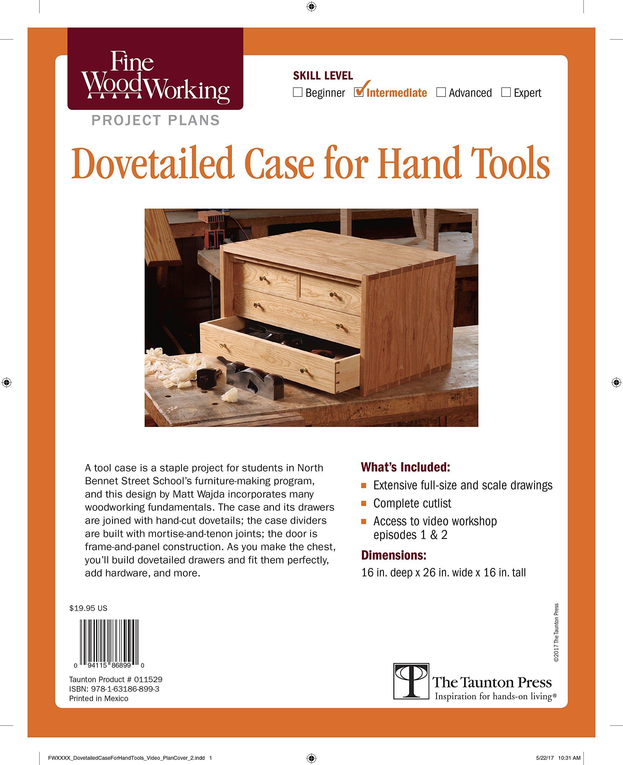Fine Woodworking\'s Dovetailed Case for Hand Tools Plan: Matt Wajda ...