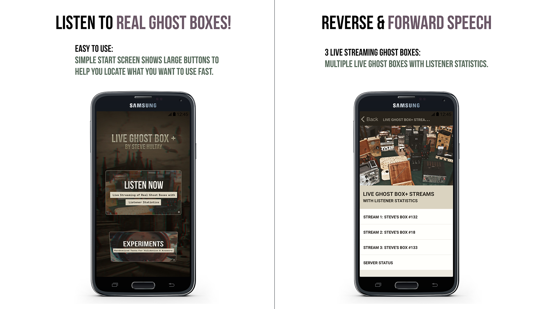 Live ghost box | Paranormal Live Ghost Box for Android  2019-05-08