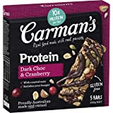 Carman's Gourmet Protein Bar Dark Choc & Cranberry, 200 g