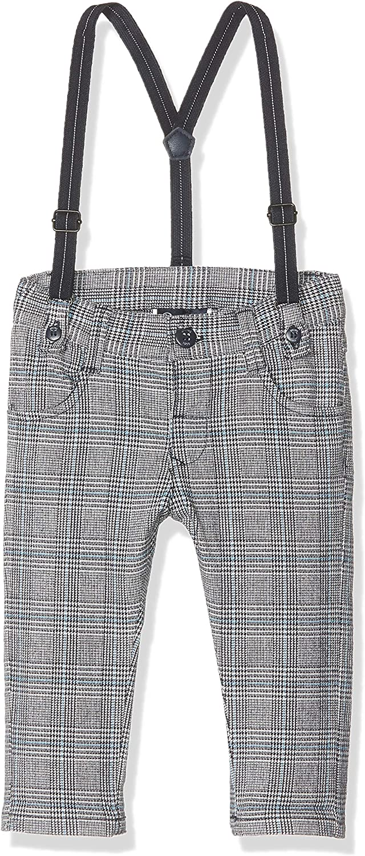 Brums Pantalone Principe Di Galles Con Bretelle Bimbo