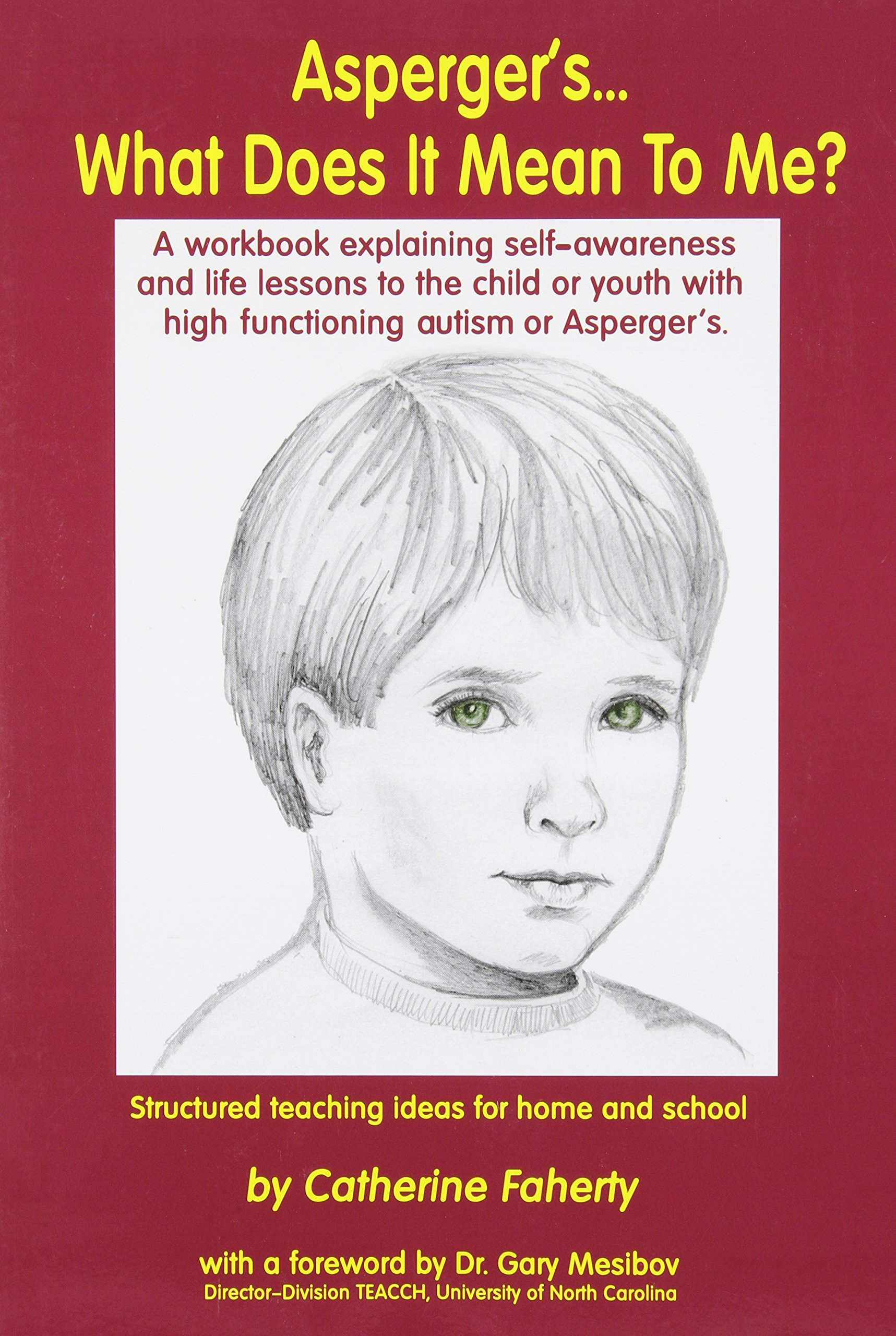 Aspergers What Does It Mean To Me A Workbook Explaining Self