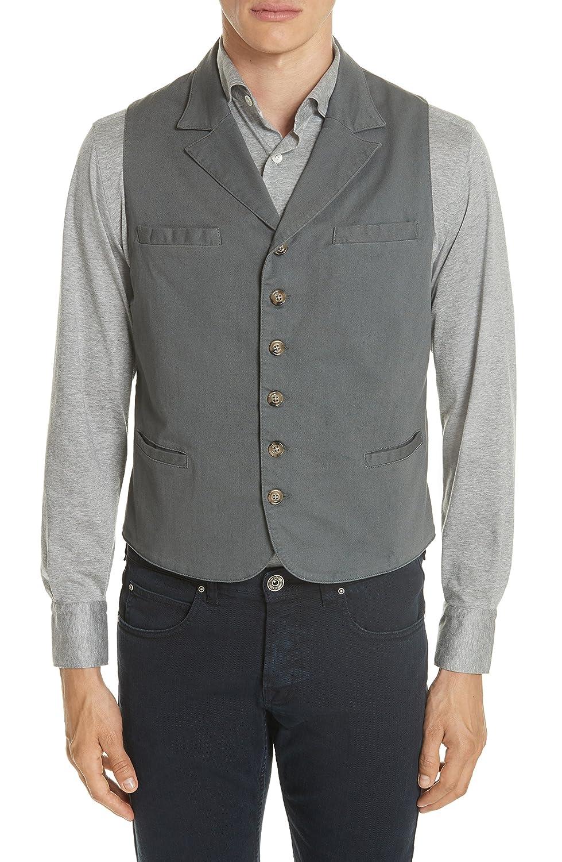 [イレブンティ] メンズ ジャケットブルゾン Eleventy Slim Fit Stretch Cotton Twill V [並行輸入品] B07D74YNJV Medium