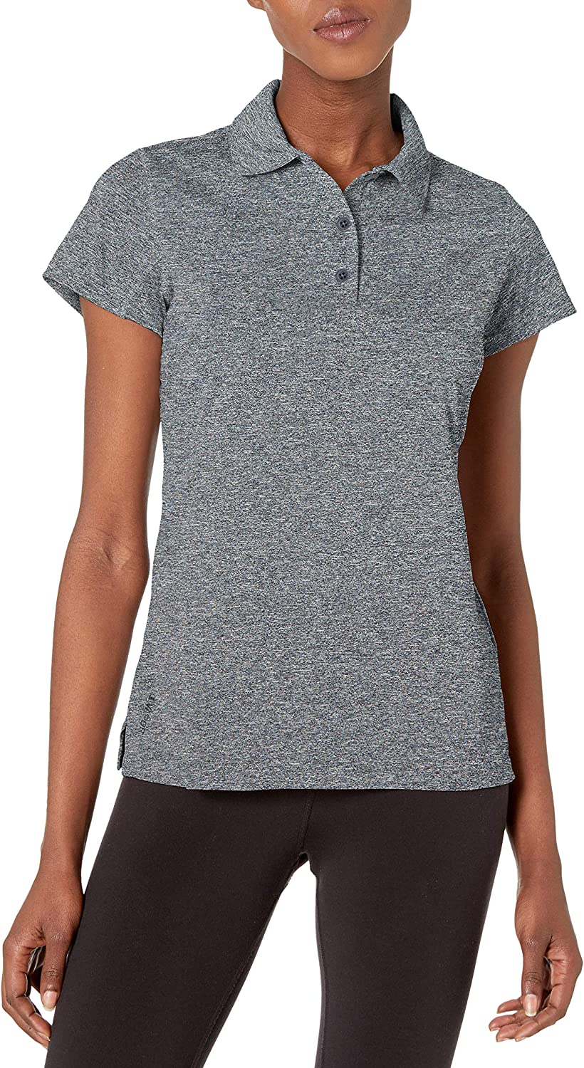 Champion Womens Short Sleeve Double Dry Performance Polo