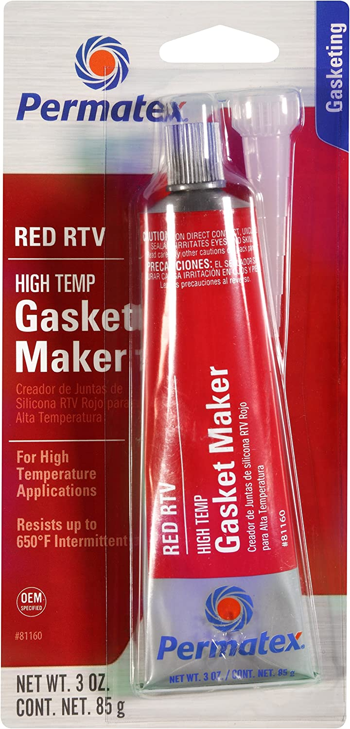 High-Temp Red RTV Silicone Gasket