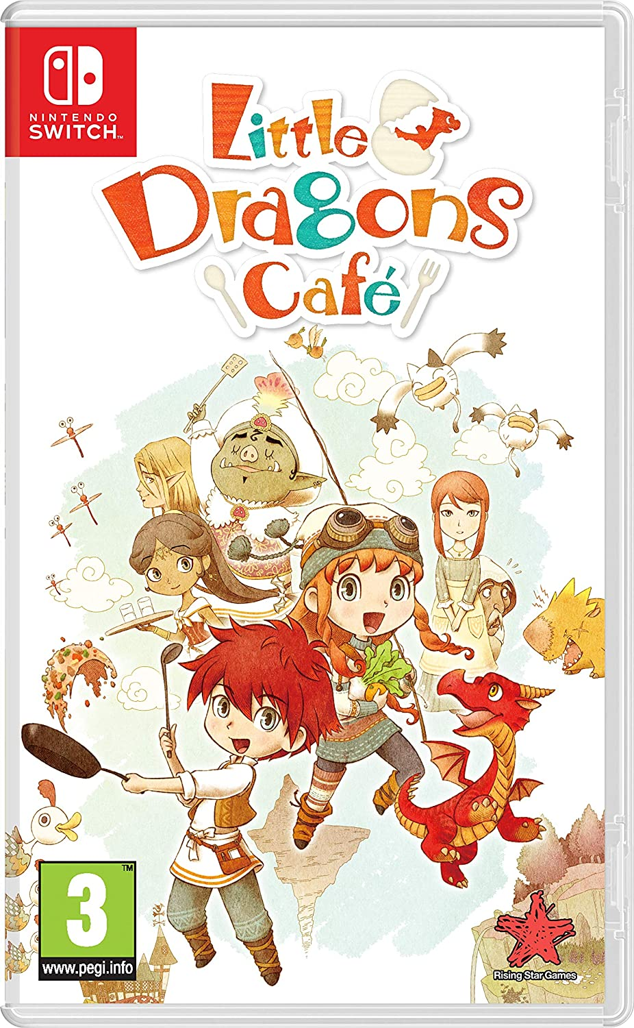 Little Dragons Cafe: Amazon.es: Videojuegos
