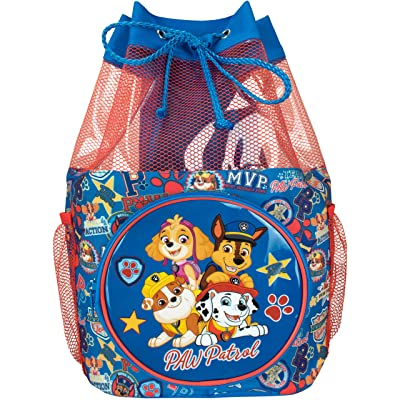 Paw Patrol Kids Chase Marshall Rubble and Skye Swim Bag | Kids' Backpacks