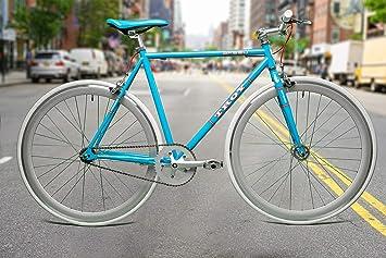 Hoop Fietse Altec Basic - Bicicleta holandesa para mujer (72 cm de ruedas, con frenos de mano gratis), color lila: Amazon.es: Deportes y aire libre