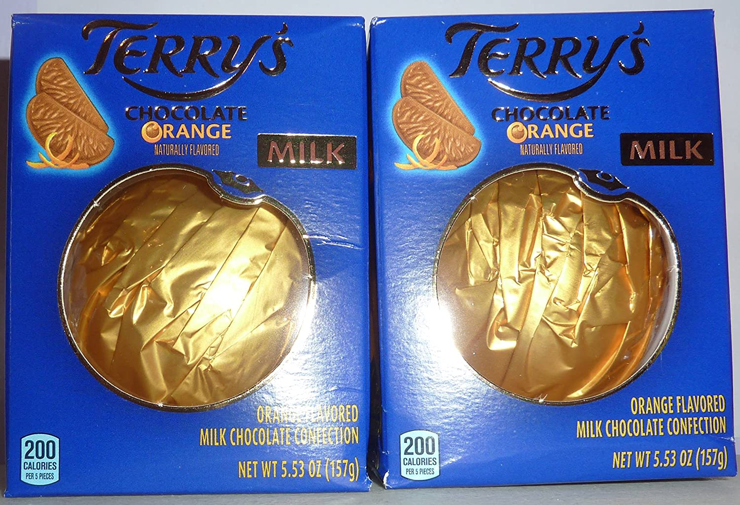 Amazon.com : Terry's Chocolate Orange Milk Chocolate 5.53 oz. 2 ...