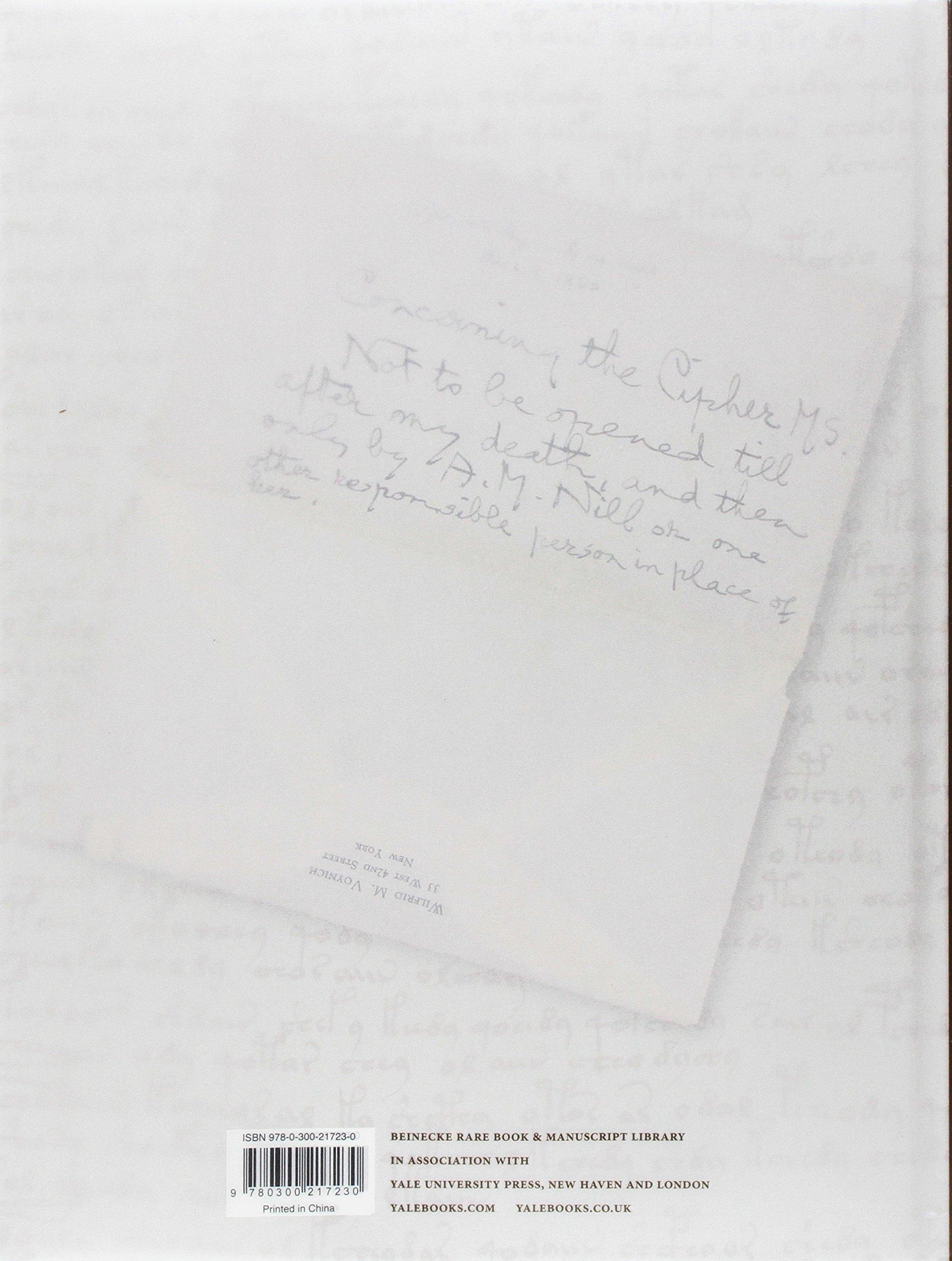 The Voynich Manuscript Clemens Raymond Harkness Deborah E Fremdsprachige Bücher