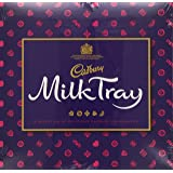 Cadbury Milk Tray Assorted Chocolates Box, 180g (Pack of 4)