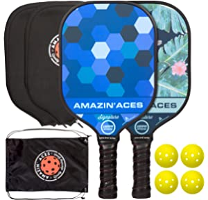 Amazon.com : HEAD Fiberglass Pickleball Paddle - Its 5 O ...