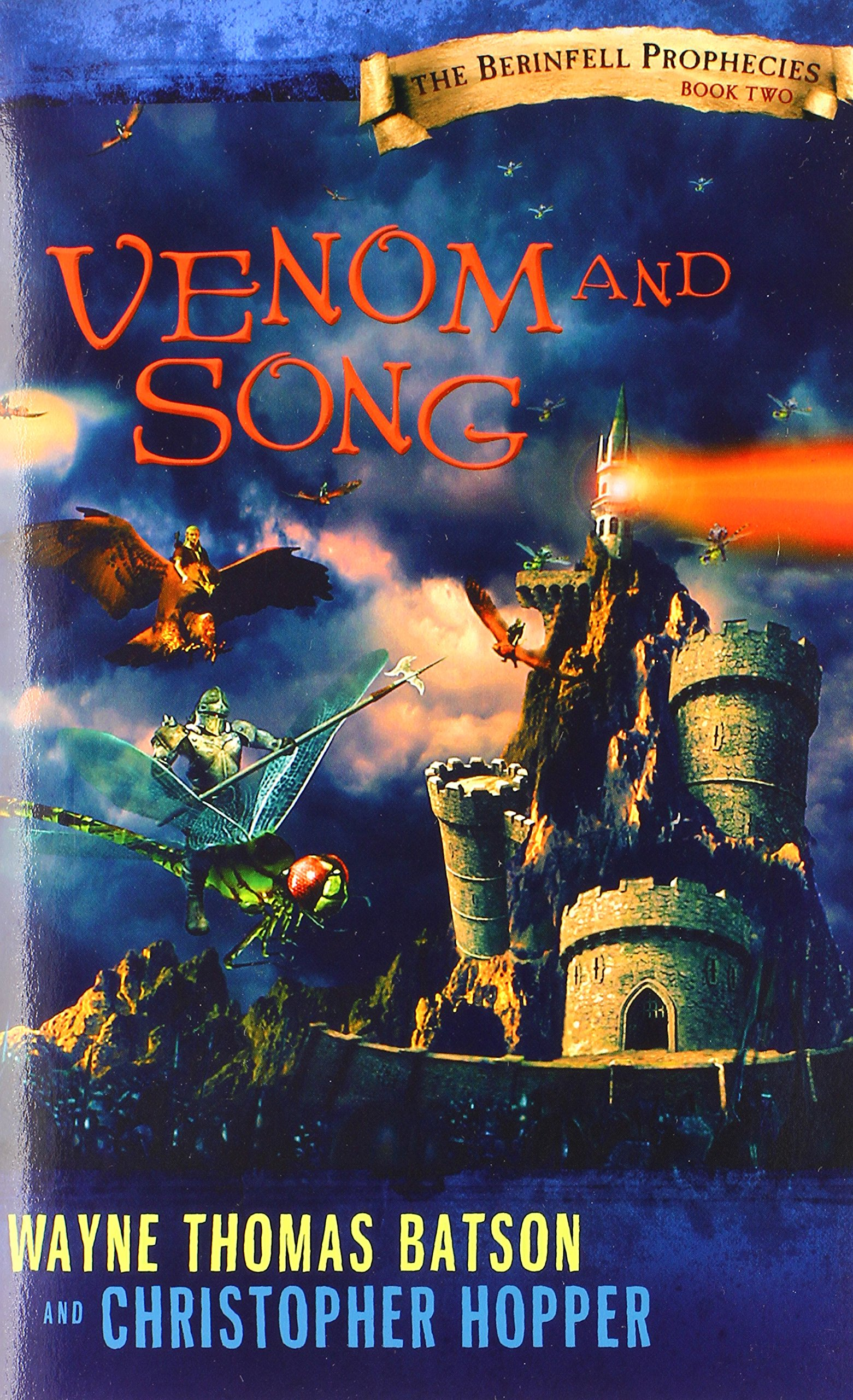 Venom and Song: The Berinfell Prophecies Series - Book Two