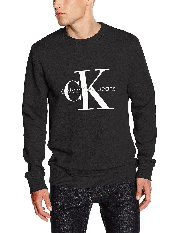 Calvin Klein Jeans Men's Crew Neck HWK Long Sleeve Sweatshirt J3IJ302252