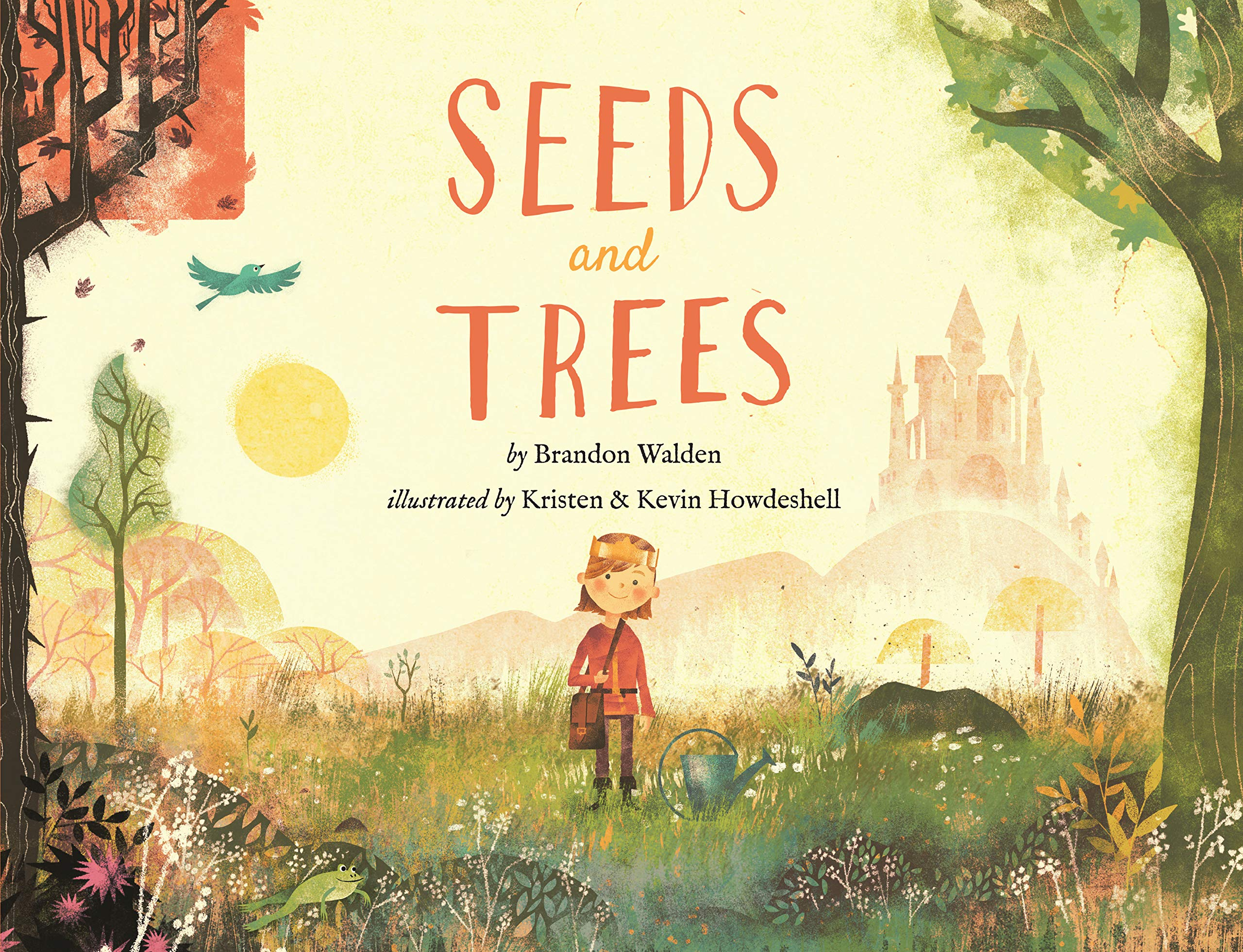Seeds and Trees: A children's book about the power of words by The Treasured Tree