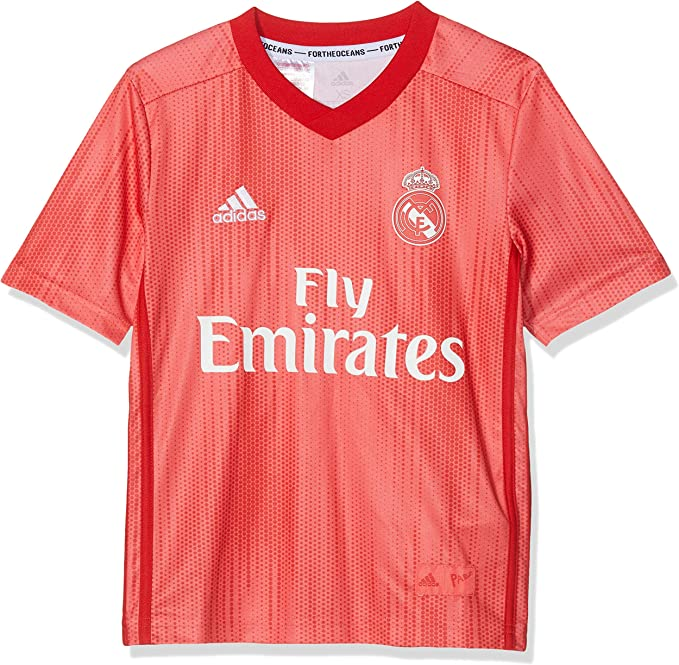 adidas Tercera Equipación Real Madrid - Camiseta Niños: Amazon.es ...