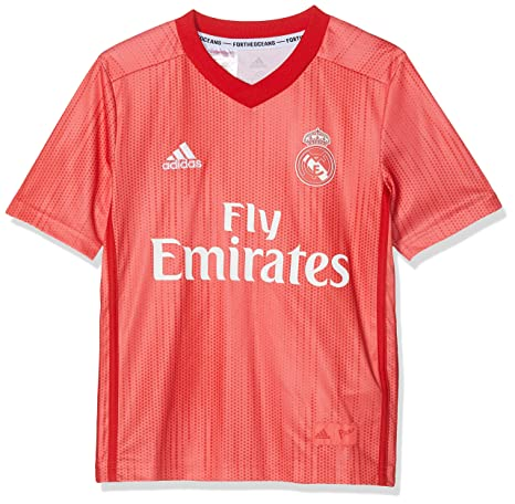 detailed look 8e835 a38ce adidas 2018-2019 Real Madrid Third Football Soccer T-Shirt Jersey (Kids)