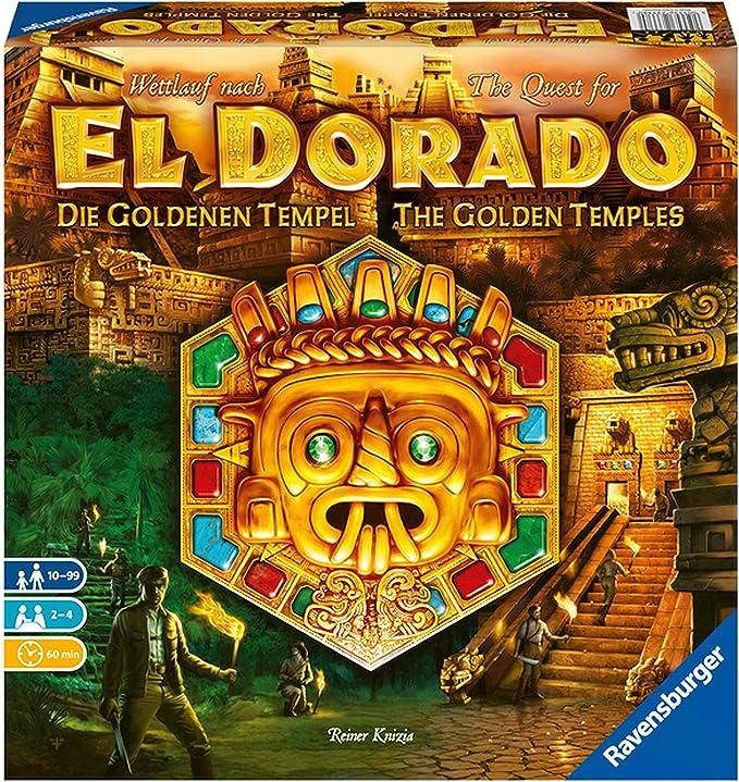 Ravensburger- Wettlauf Nach El Dorado : Die goldenen Tempel El Templo, Color 1. (26129): Knizia, Reiner: Amazon.es: Juguetes y juegos