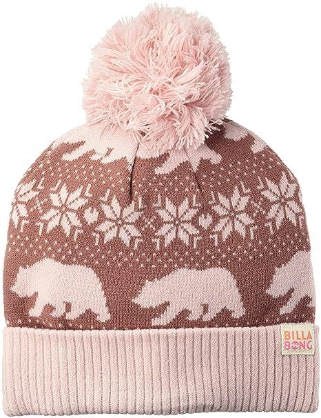 343e9115 Amazon.com: Billabong Girls' Big Snow Day Beanie, Vintage Plum ONE ...