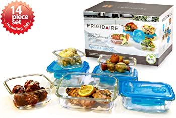 Frigidaire 14-Pc Glass Food Storage Set