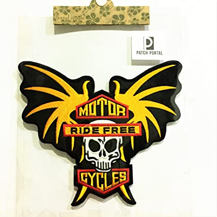 Harley Davidson Shield Embroidered Sew On Biker patch Motorcycle