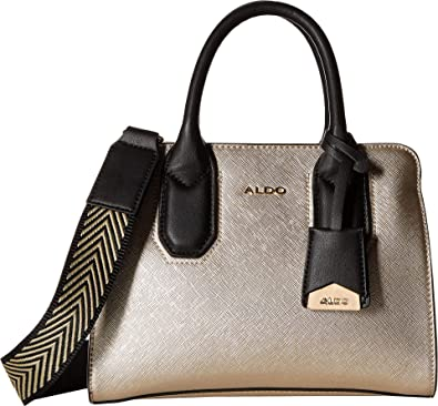 7dbdd7adc04 ALDO Women's Prayma Champagne One Size: Handbags: Amazon.com