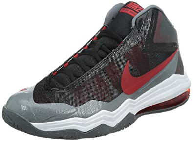 quality design daf15 475f9 Nike Mens Air Max Audacity Basketball Shoes 8 M US Cool Grey Red White