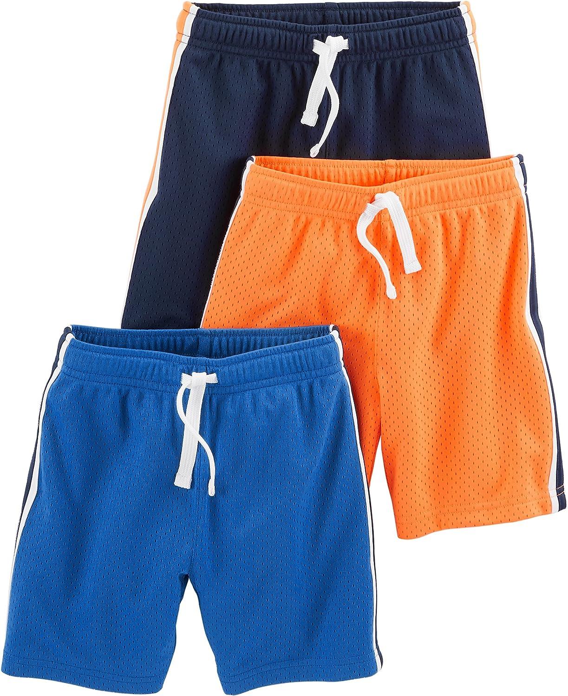 Simple Joys by Carters Kleinkind Jungen 3er Pack Mesh Shorts