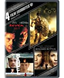 4 Film Favorites: Brad Pitt (The Curious Case Of Benjamin Button, Babel, Troy, Seven)