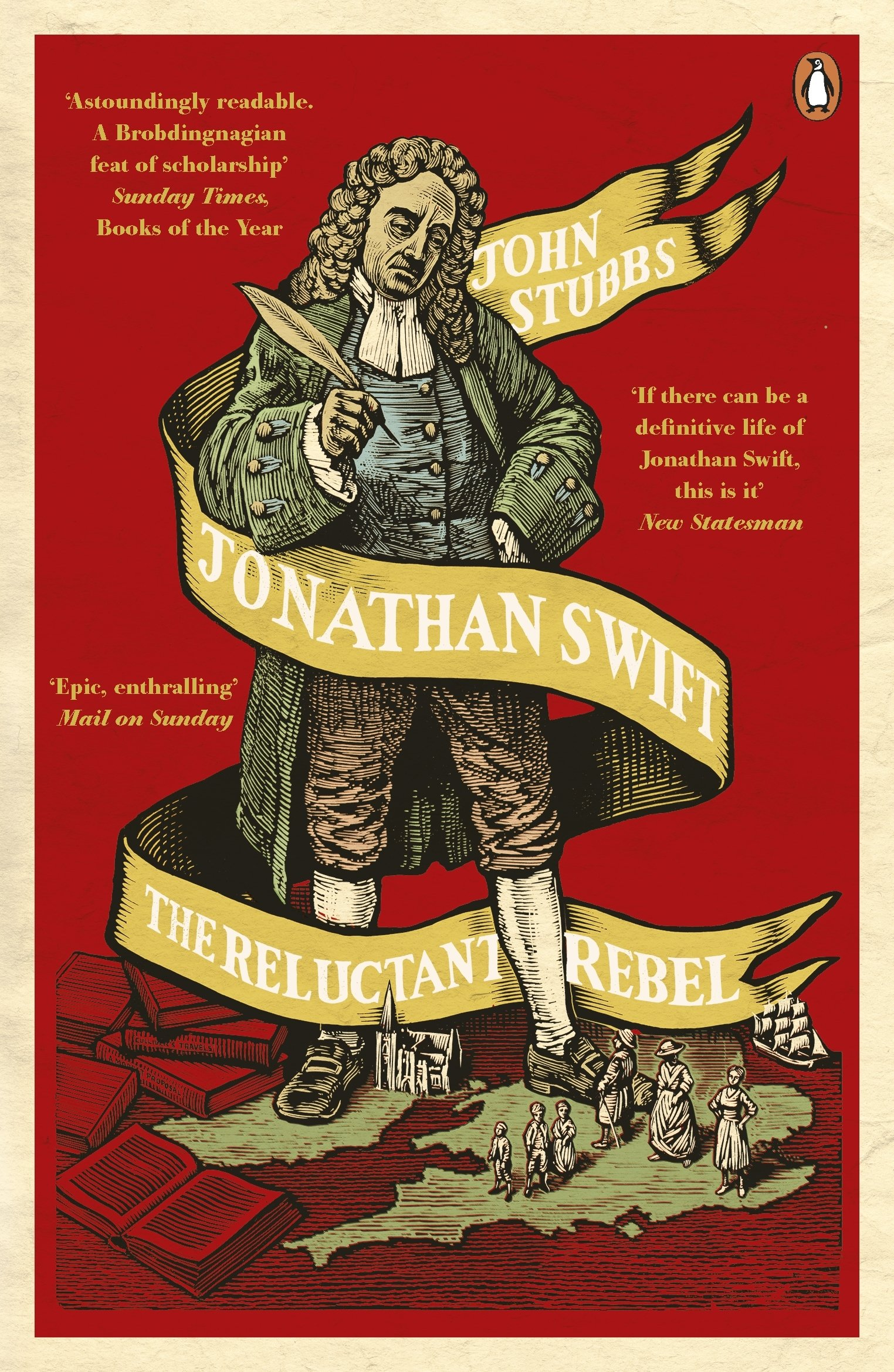 Download Jonathan Swift: The Reluctant Rebel pdf