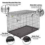 XL Dog Crate | MidWest ICrate Double Door Folding