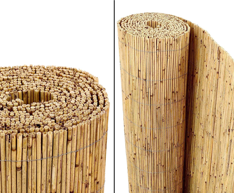 Amazon De Bambus Discount Com Schilfrohrmatten Premium Beach 140
