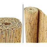 """Schilfrohrmatten Premium """"Beach"""", 140 hoch x 600cm breit, ein Produkt von bambus-discount - Sichtschutz Matten Windschutzmatten …"""