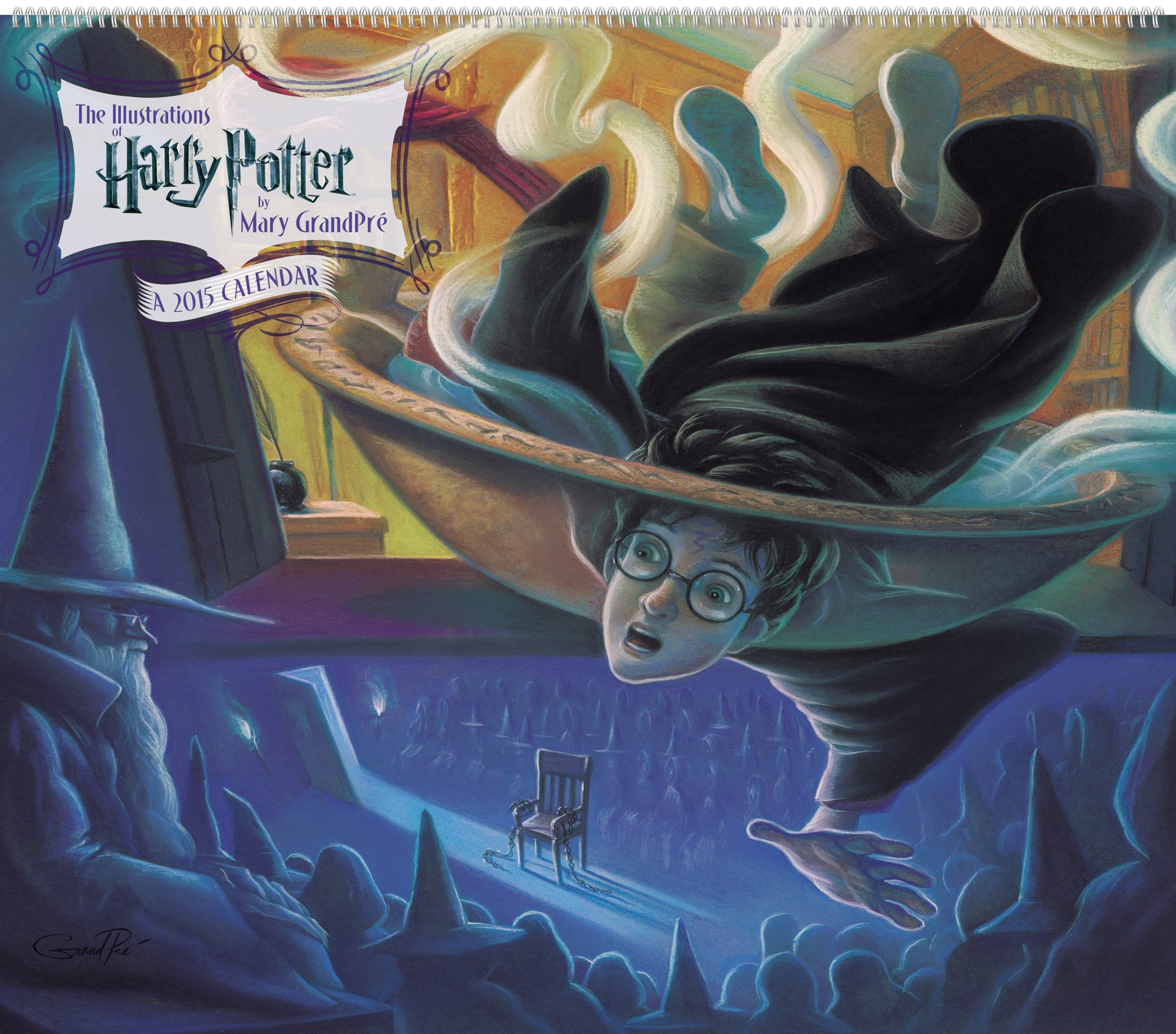 Super Harry Potter Poster Calendar (2015): The Illustrations of Mary  IU21