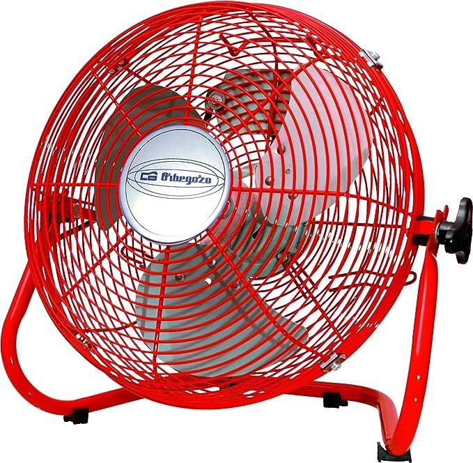 Orbegozo PW1430 Ventilador industrial, 50 W, Rojo: Amazon.es: Hogar