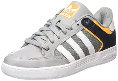 adidas Unisex Adults Varial Low Skateboarding Shoes, Grey (MGH Solid  Grey/FTWR White