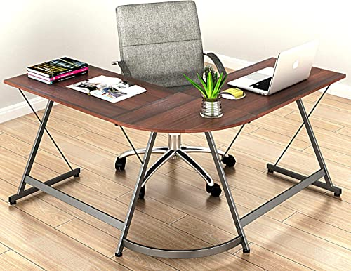 Le Crozz SHW L-Shape Corner Desk